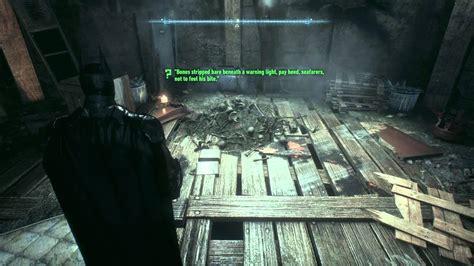 A Light Beneath Their by Batman Arkham Bones Stripped Bare Beneath A
