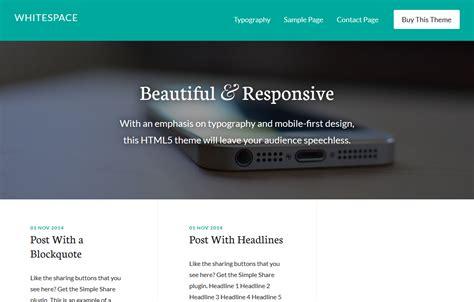 zweispaltiges layout wordpress 10 moderne mobile first themes f 252 r wordpress pressengers