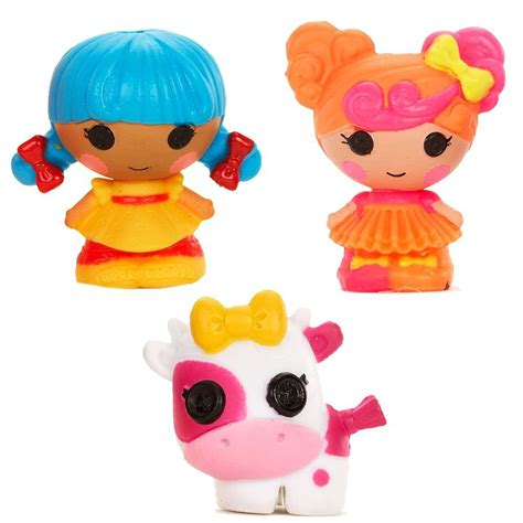 design a lalaloopsy doll lalaloopsy tinies 3 pack design 4 dolls mini dolls