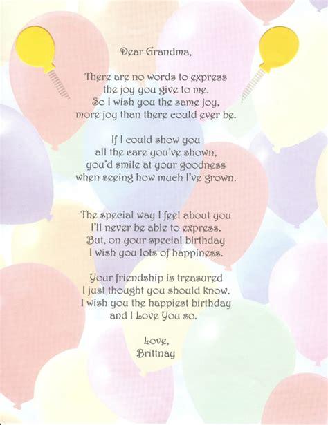 Birthday Quotes For Nana 25 Wholehearted Birthday Poems