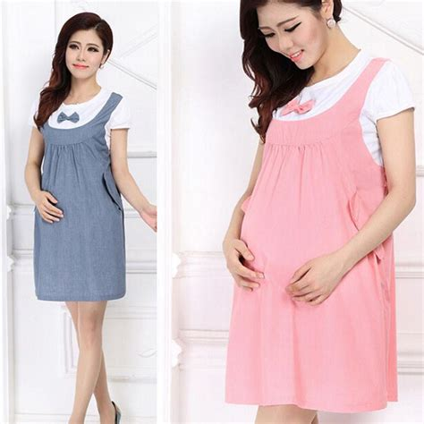 Baju Tidur All Item Only 35 000 53 2018 feitong summer maternity dress bow clothes for