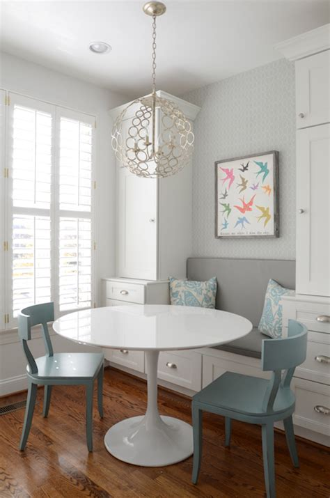 built in banquette contemporary kitchen finnian s