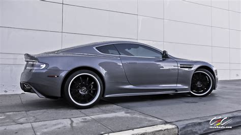 custom aston martin dbs aston martin dbs with custom finished cec forged wheels