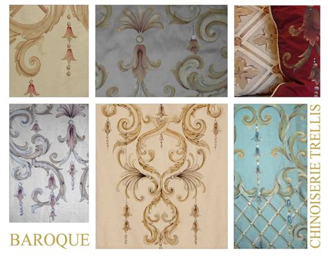 baroque designs bery designs painted fabrics baroque