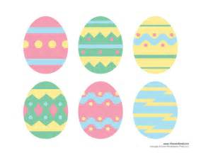 Easter Picture Templates by Printable Easter Egg Templates