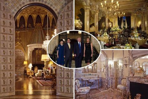 Inside Donald S Mansion Business Inside Donald S Winter White House A Multi