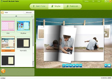 picture flip book maker flip book maker trial for free 69 95 to buy