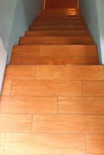 Tile Floor Wood Stairs by Stairs Wood Tile New Jersey Custom Tile