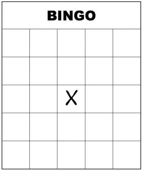 free printable blank bingo card template free printable bingo cards for and adults blank