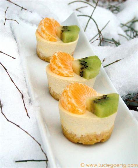 recette de cuisine de saison mini cheesecakes aux fruits de saison pour 6 personnes
