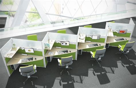 Zigzag Office Desk Zig Zag Desks New Office Ideas Office