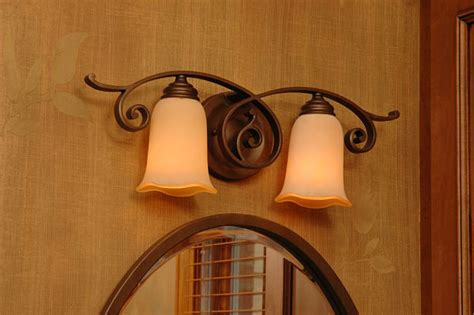 matching bathroom fixtures how to select bathroom lights and mirrors