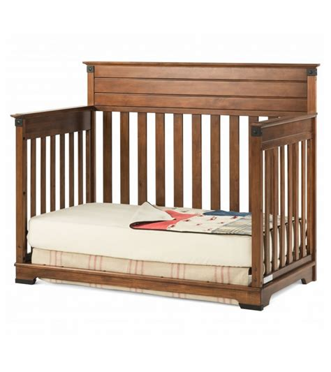 Cherry Wood Convertible Crib by Child Craft Redmond 4 In 1 Convertible Crib Coach Cherry