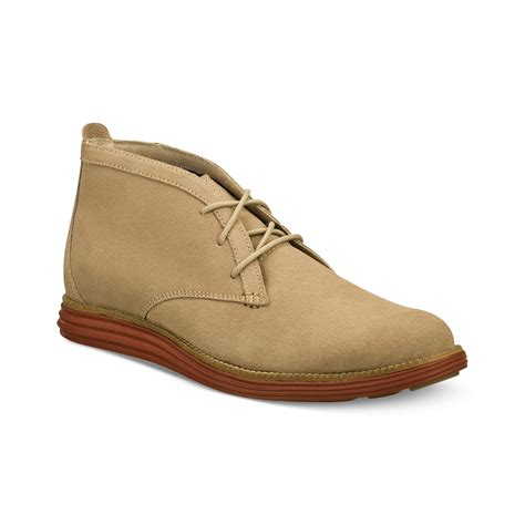 nason boots nason mayland suede chukka boots in brown for