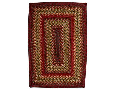 home spice decor homespice decor jute braided rectangular brown area rug