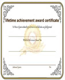achievement awards templates 32 free award certificate