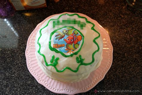 nemo cake template nemo birthday