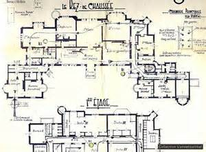 chateau homes floor plans der spurensammler chateau noisy historische bilder architecture pinterest the
