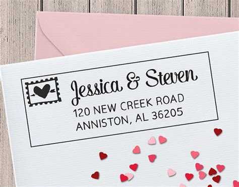 personalized rubber address sts custom rubber st personalized address st custom