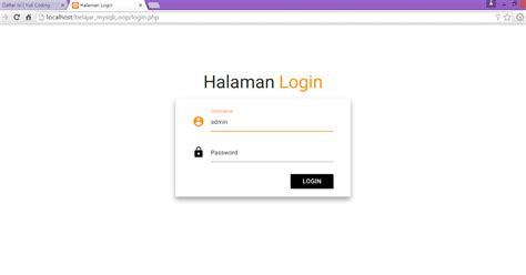 membuat login multi user dengan codeigniter membuat login dengan php ekstensi mysqli materializecss