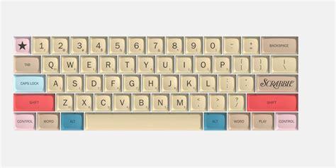 fi scrabble massdrop offers a scrabble themed mechanical keyboard