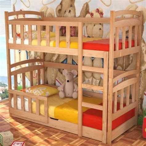 Childrens Bunk Bed With Storage Bed Maciej With Mattresses Bunk Bed Storage Container Pine Wood New Ebay