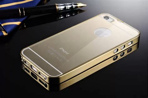 Ultrathin For Iphone 5 5s Metal Bling Luxury Black 2 new luxury aluminum ultra thin mirror metal cover for apple iphone 5 5s ebay