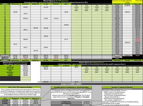 ideas  budget spreadsheet  pinterest