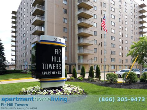 one bedroom apartments in akron ohio fir hill towers apartments akron oh apartments
