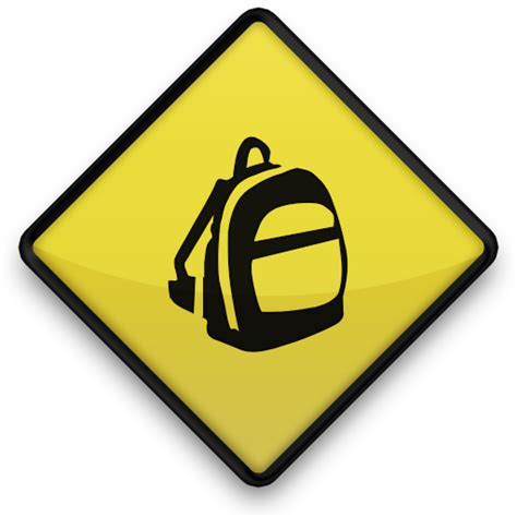Sign Backpack backpack backpacks icon 048735 187 icons etc