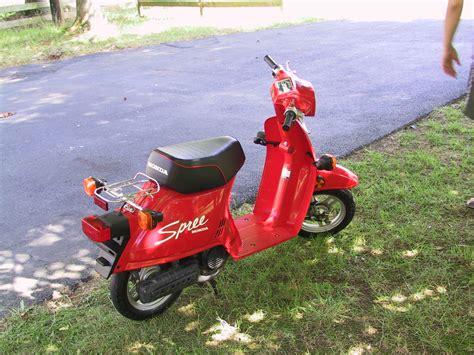1986 Honda Spree by 1986 Honda Spree Scooter For Sale
