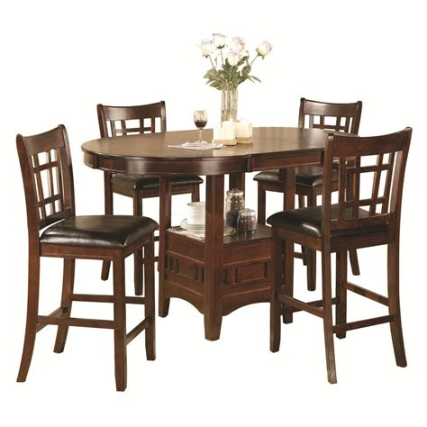 home source 5pc pub dining set by oj commerce jacksonvillecounter 902 99