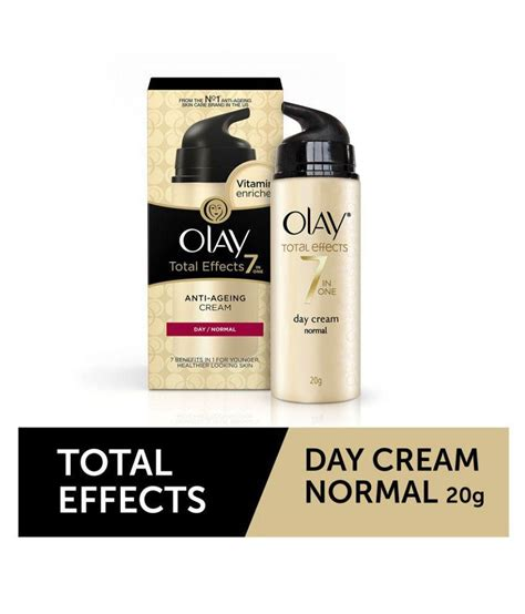 Bedak Olay Total Effect olay total effects 7 in 1 normal anti ageing day 20g