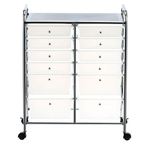 12 drawer rolling cart honey can do international 12 drawer rolling cart the
