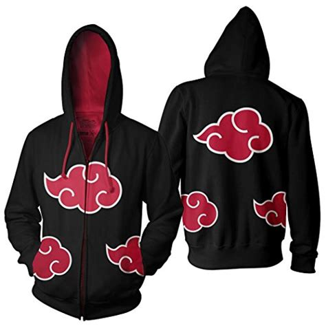 Jacket Jaket Hoodie Clan Akatsuki Utsukushi Style Anime Hitam akatsuki cloud zip front hoodie jacket large apparel in the uae see prices