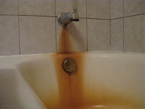 removing rust stains from bathtub is the tub supposed to be orange some blog site