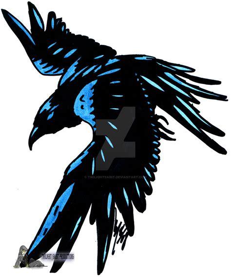 raven tribal tattoo black tribal stencil by alister