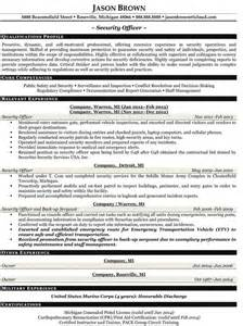 sle resume officer officer resume exles no experience