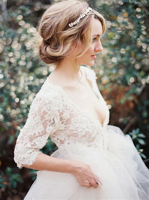 Wedding Hairstyles Updo With Headband by 20 Wedding Hairstyles With Exquisite Headpieces
