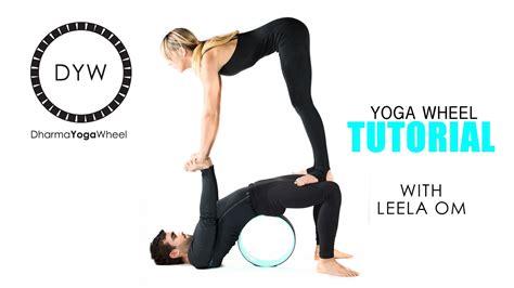 yoga tutorial videos download dharma yoga wheel tutorial youtube