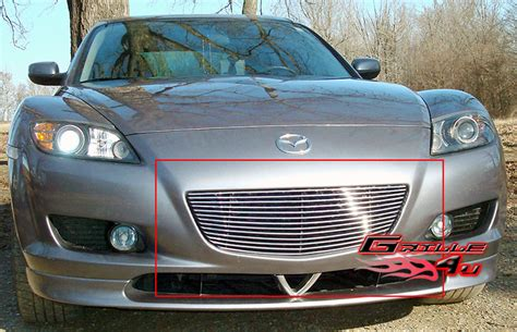 mazda rx8 front grill for 04 08 mazda rx 8 billet grille insert