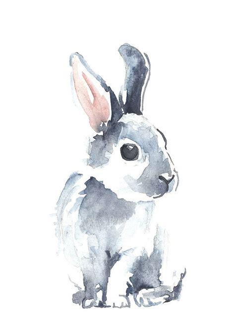 watercolor rabbit tutorial les 25 meilleures id 233 es de la cat 233 gorie aquarelle sur