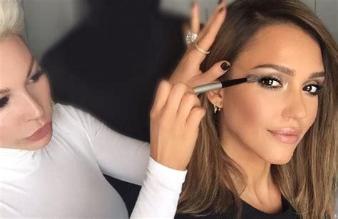 what happens when kim kardashians makeup artist does kim kardashian s makeup artist works with jessica alba
