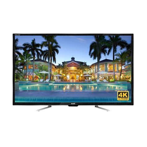 jual akari 55d88 uhd led tv hitam 55 inch 4k usb harga kualitas terjamin