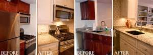 Before And After Pictures Of Kitchen Cabinets Painted Kitchen Cabinet Painting Before Amp After Arteriors