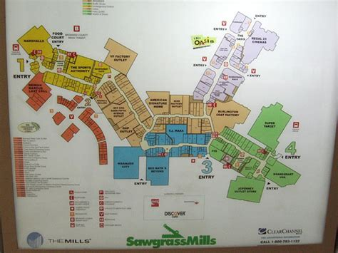 sawgrass mills map sawgrass mills mapa