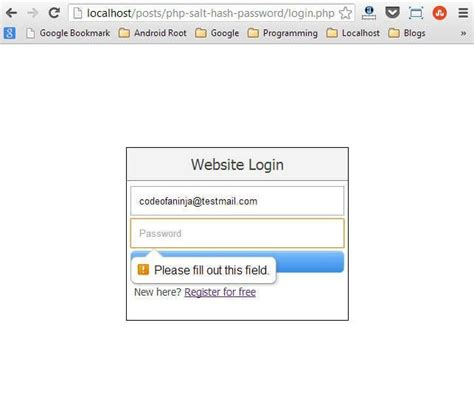 html5 pattern validation for password how to salt hash and store passwords securely