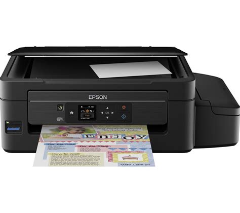 Printer Epson Ecotank epson ecotank et 2550 all in one wireless inkjet printer deals pc world