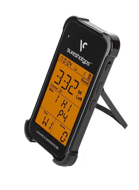 swing speed monitor launch monitor black