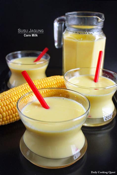 resep susu jagung manis  sehat